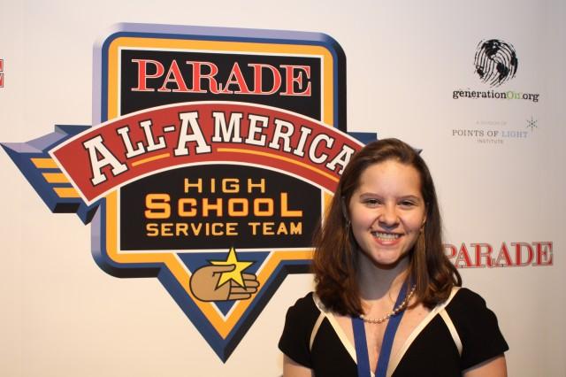 Amber Kriech - Parade Service Team