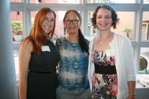 University of San Francsico alumnae at pre-screening reception
