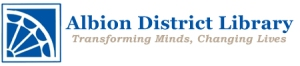 Albion District Library logo